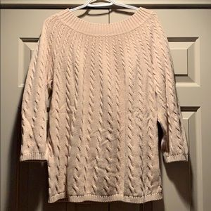Talbots Cotton Sweater